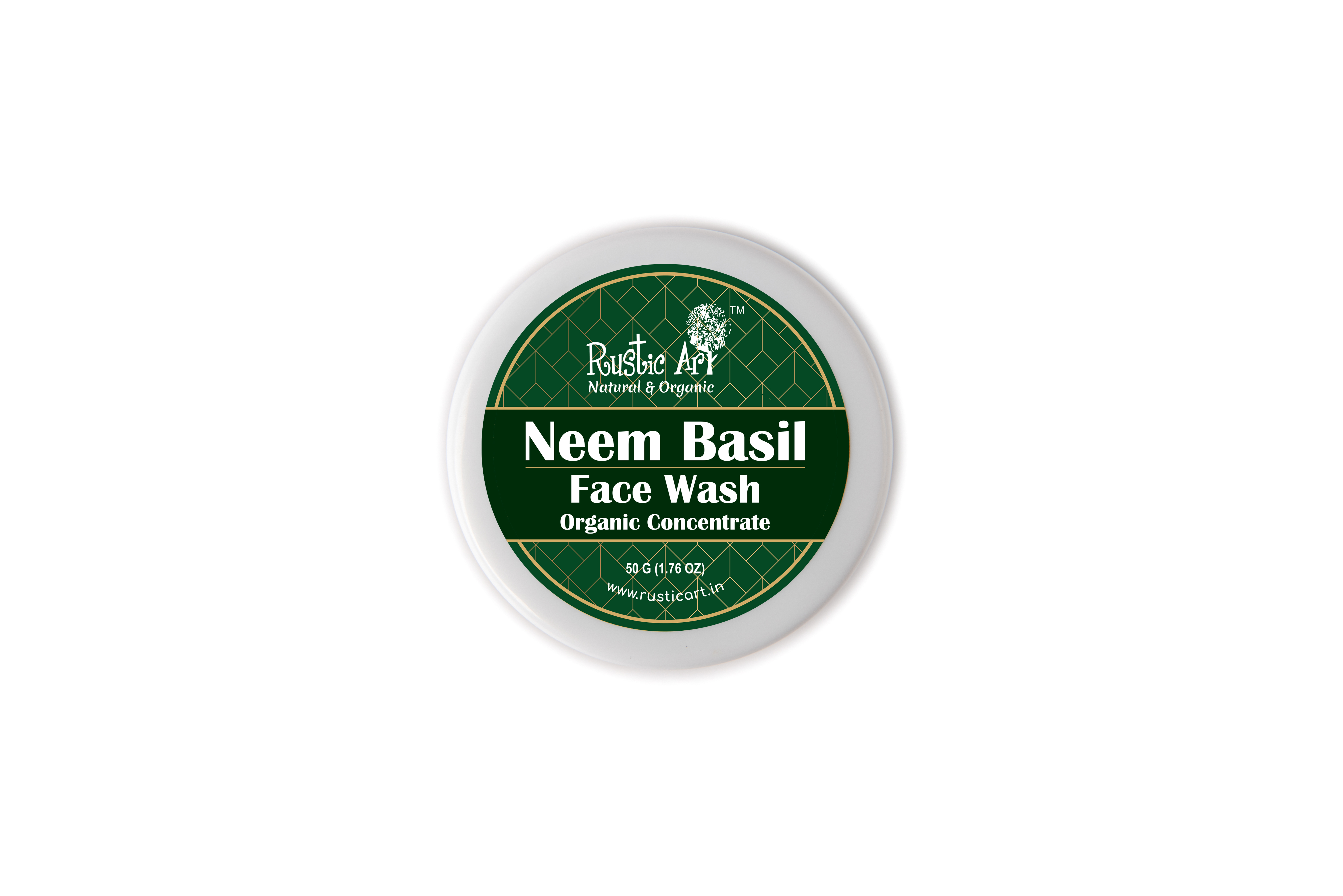 Organic Neem Basil Face Wash Concentrate