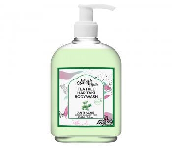 Tea Tree – Haritaki Anti Acne Body Wash- For Healing Acne, Pimples, Scars, Blemishes & Breakouts.
