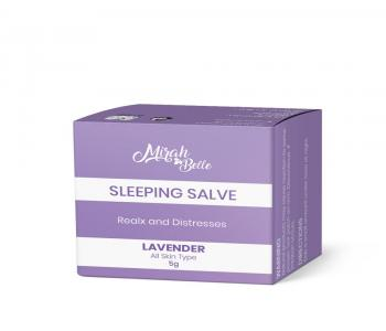 Organic - Lavender Sleeping Salve - Balm for Mind Relaxation & Restful Sleep at Night