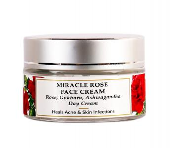 Organic & Natural - Rose Dry Skin Day Face Cream