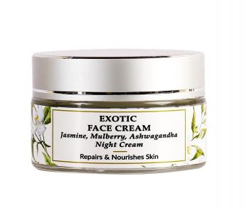 Organic & Natural - Jasmine Night Cream - Dry & Dehydrated Skin