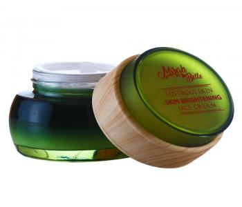 Organic & Natural - Skin Brightening Face Cream - Green Tea, Apple & Papaya