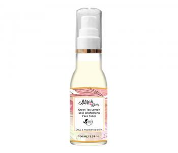 Organic and Natural - Skin Brightening Face Toner - Green Tea and Lemon