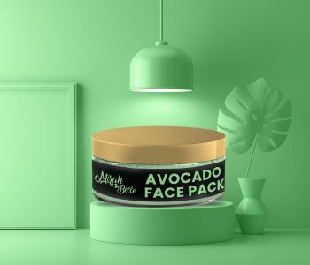 Organic & Natural Avocado Face Pack