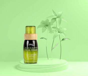 Organic Skin Lightening & Brightening Elixir Face Serum