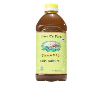 Organic Mustard Oil (Yellow)