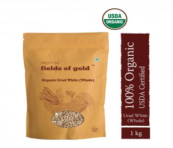 Fields of Gold Organic Urad White (Whole)