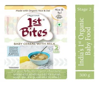 1st Bites - Rice & Dal (8 Months - 24 Months ) Stage - 2