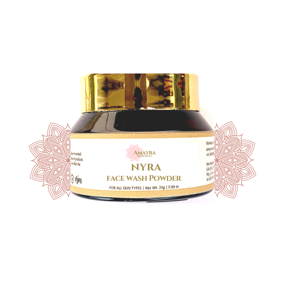 Amayra Naturals Nyra Face Wash Powder - 25gm